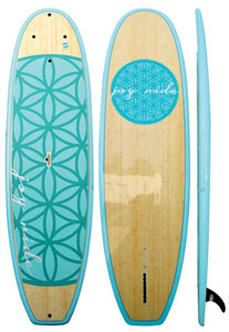 boardworks joyride flow bamboo paddle board