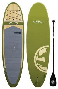 levitate bamboo paddle board