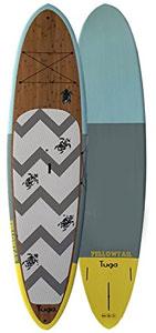 tuga tiff bamboo paddle board