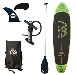 aqua marina breeze budget paddle board