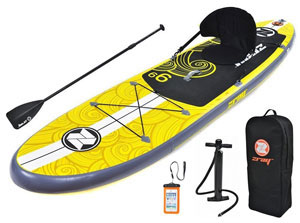zray inflatable sup board