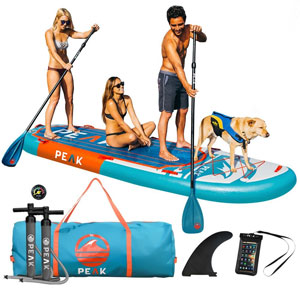 Peak 12' Titan Royal Blue Large Multi Person Inflatable SUP
