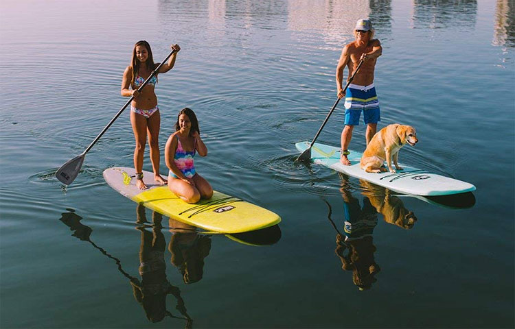 soft top paddle board review