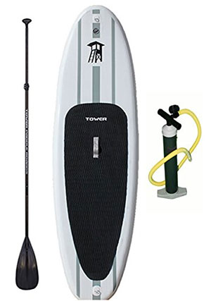 tower adventurer paddle board review
