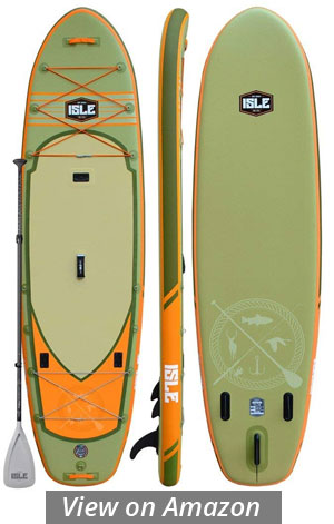 Isle Sportsman Inflatable Fishing Paddle Board