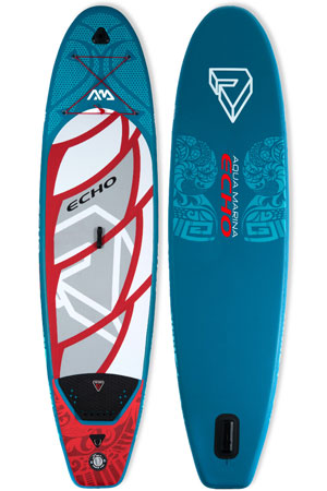 aqua marina echo sup board review