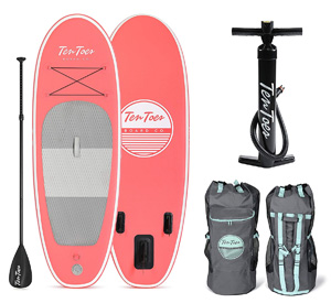 retrospec ten toes nano kids paddle board