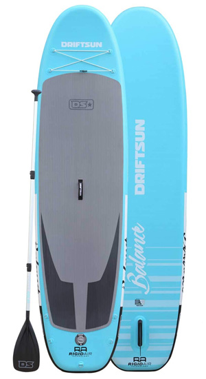 driftsun balance paddle board for yoga