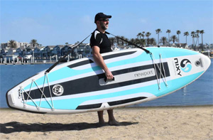 nixy newport g3 best inflatable paddle board