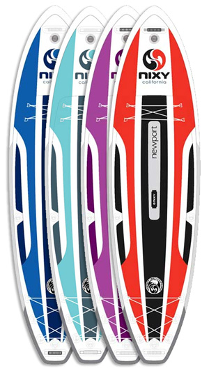 nixy newport best inflatable paddle board
