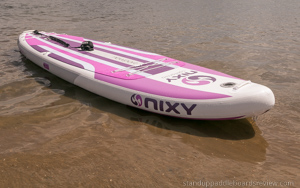 nixy newport inflatable sup board