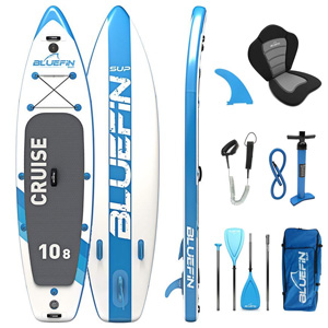 bluefin cruise inflatable paddle board