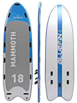 bluefin mammoth multi person paddle board