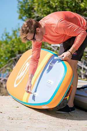 irocker all around paddle board fins