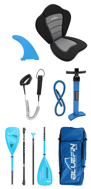 bluefin cruise sup accessories